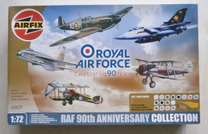 AIRFIX 1/72 50029 RAF 90th ANNIVERSARY COLLECTION
