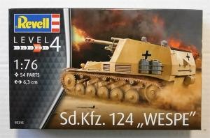 REVELL 1/76 03215 Sd.Kfz 124 WESPE