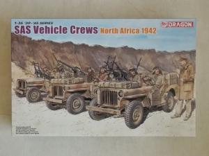 DRAGON 1/35 6682 SAS VEHICLE CREWS NORTH AFRICA 1942