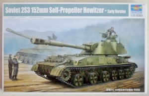 TRUMPETER 1/35 05543 SOVIET 2S3 152mm SP HOWITZER EARLY VERSION