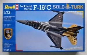 REVELL 1/72 04844 LOCKHEED-MARTIN F-16 C SOLO TURK