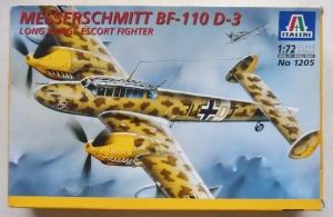 ITALERI 1/72 1205 MESSERSCHMITT Bf 110 D-3