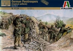 ITALERI 1/72 6134 GERMAN PARATROOPS TROPICAL UNIFORM