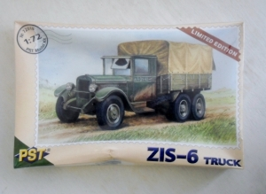PST 1/72 72019 ZIS-6 TRUCK