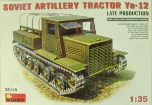 MINIART 1/35 35140 SOVIET ARTILLERY TRACTOR YA-12 LATE