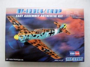HOBBYBOSS 1/72 80261 MESSERSCHMITT Bf 109E4/TROP EASY ASSEMBLY