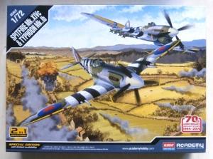 ACADEMY 1/72 12512 SPITFIRE Mk.XIVC   TYPHOON Mk.1B