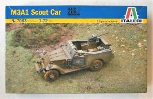 ITALERI 1/72 7063 M3A1 SCOUT CAR