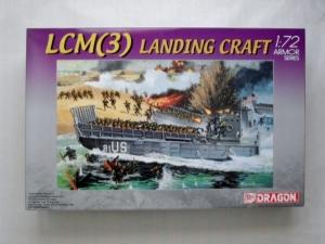 DRAGON 1/72 7257 LCM 3  LANDING CRAFT