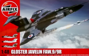 AIRFIX 1/48 12007 GLOSTER JAVELIN FAW.9/9R
