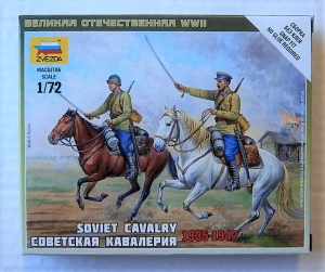ZVEZDA 1/72 6161 SOVIET CAVALRY 1935-1942