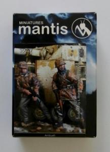 MANTIS MINIATURES 1/35 35027 SS PANZERGRENADIER AMBUSH