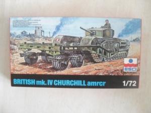 ESCI 1/72 8049 BRITISH CHURCHILL Mk. IV