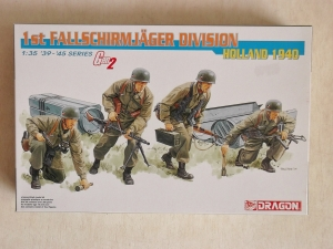 DRAGON 1/35 6276 1st FALLSCHIRMJAEGER DIVISION HOLLAND 1940