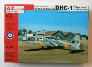 AZ MODEL 1/72 7559 DHC-1 CHIPMUNK T.10 WITH LYCOMING