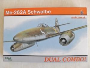 EDUARD 1/144 4420 MESSERSCHMITT Me 262A SCHWALBE DUAL COMBO