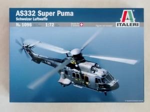 ITALERI 1/72 1096 AS332 SUPER PUMA SCHWEIZER LUFTWAFFE