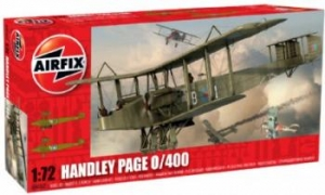 AIRFIX 1/72 06007 HANDLEY PAGE 0/400