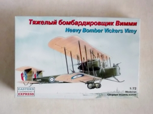 EASTERN EXPRESS 1/72 72256 VICKERS VIMY