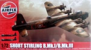 AIRFIX 1/72 07002 SHORT STIRLING B.Mk.I/B.Mk.III