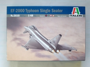 ITALERI 1/48 2610 EF-2000 TYPHOON SINGLE SEAT