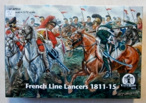 WATERLOO 1/72 AP054 FRENCH LINE LANCERS 1811-15