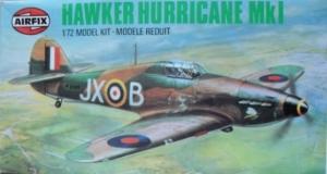 AIRFIX 1/72 02067 HAWKER HURRICANE Mk.I
