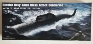 HOBBYBOSS 1/350 83525 RUSSIAN NAVY AKULA CLASS ATTACK SUBMARINE