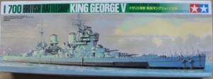 TAMIYA 1/700 B125 KING GEORGE V