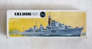 AIRFIX 1/600 01203 HMS DARING