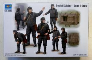 TRUMPETER 1/35 00434 SOVIET SOLDIER SCUD B CREW