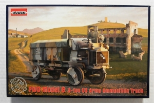 RODEN 1/72 736 FWD MODEL B 3-TON US ARMY AMMUNITION TRUCK