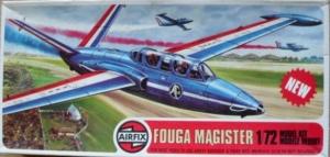 AIRFIX 1/72 02047 FOUGA MAGISTER
