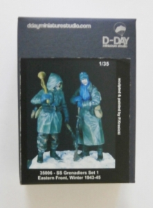 D-DAY 1/35 35006 SS GRENADIERS SET 1 EASTERN FRONT WINTER 1943-45