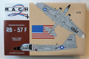 MACH 1/72 018 RB-57F