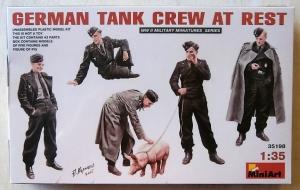 MINIART 1/35 35198 GERMAN TANK CREW AT REST