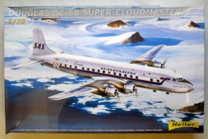 HELLER 1/72 80315 DOUGLAS DC-6B SUPER CLOUDMASTER SAS