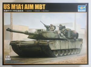 TRUMPETER 1/16 00926 US M1A1 AIM MBT  UK SALE ONLY