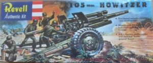 REVELL  H539 105mm HOWITZER  RE ISSUE  1/40