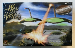 PEGASUS HOBBIES 1/144 9202 THE WAR OF THE WORLDS WAR MACHINES ATTACK PLATED