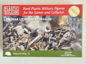 PLASTIC SOLDIER 1/72 WW2020006 LATE WAR US INFANTRY 1944-45
