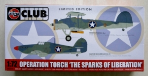 AIRFIX 1/72 82014 OPERATION TORCH THE SPARKS OF LIBERATION  HURRICANE   SWORDFISH