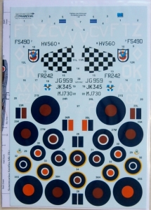 XTRADECAL 1/48 48150 FIGHTERS OVER AFRICA   THE MEDITERRANEAN Pt.2