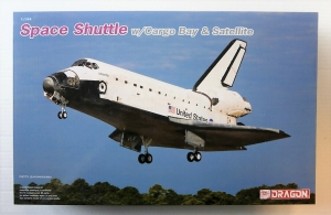 DRAGON 1/144 11004 SPACE SHUTTLE w/CARGO BAY   SATELITE