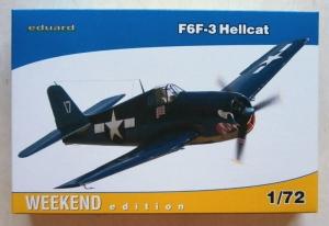 EDUARD 1/72 7414 F6F-3 HELLCAT
