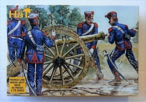 HAT INDUSTRIES 1/72 8039 NAPOLEONIC FRENCH LINE HORSE ARTILLERY