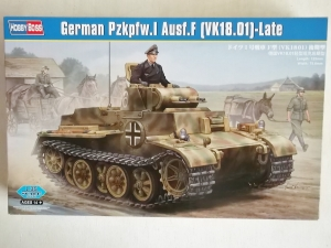 HOBBYBOSS 1/35 83805 GERMAN Pz.Kpfw.I Ausf.F  VK18.01  LATE