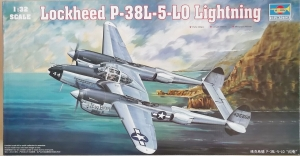 TRUMPETER 1/32 02227 LOCKHEED P-38L-5L0 LIGHTNING  UK SALE ONLY