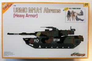 CYBER-HOBBYCOM 1/35 9125 USMC M1A1 ABRAMS  HEAVY ARMOUR