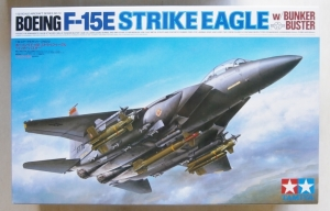 TAMIYA 1/32 60312 F-15E STRIKE EAGLE WITH BUNKER BUSTER  UK SALE ONLY